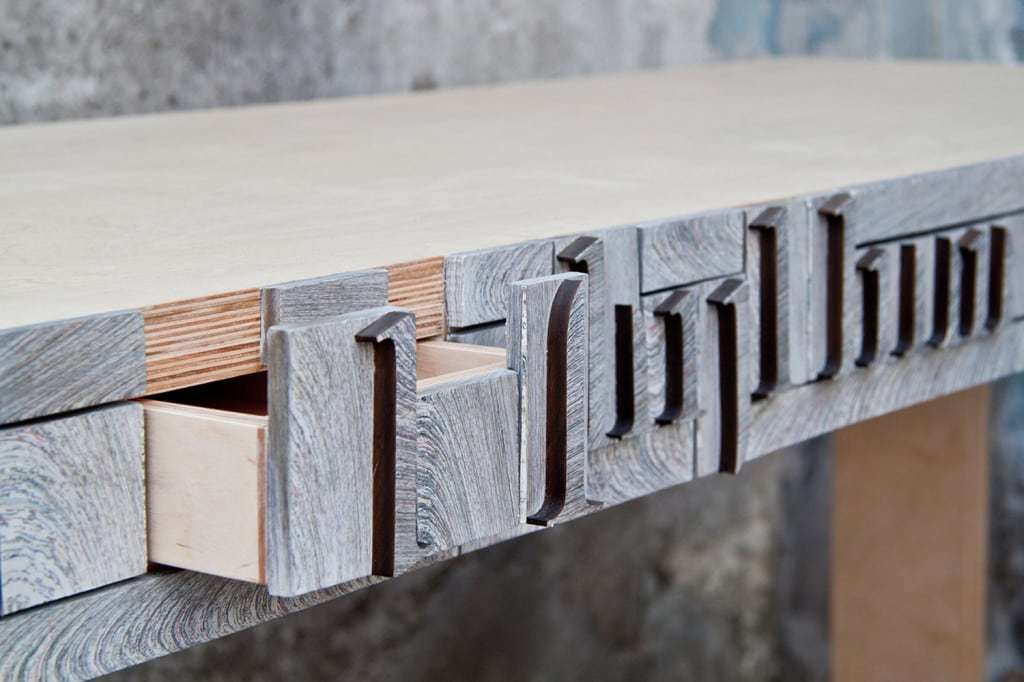 NewspaperWood, la carta trasformata in legno - Design Miss