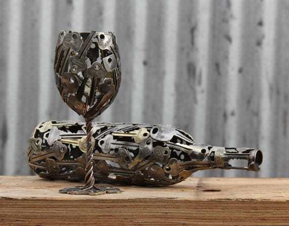 sculture-metalliche