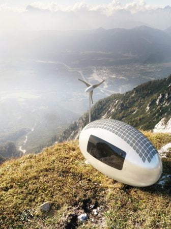 Ecocapsule, una casa trasportabile in totale autonomia