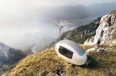 Ecocapsule, una casa trasportabile in totale autonomia