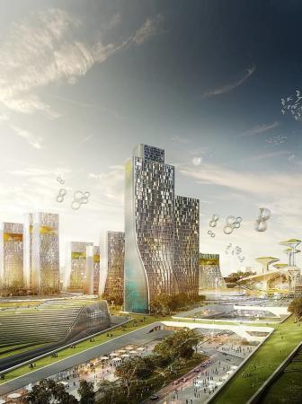 EXPO 2017: cresce la cittadella in Kazakistan
