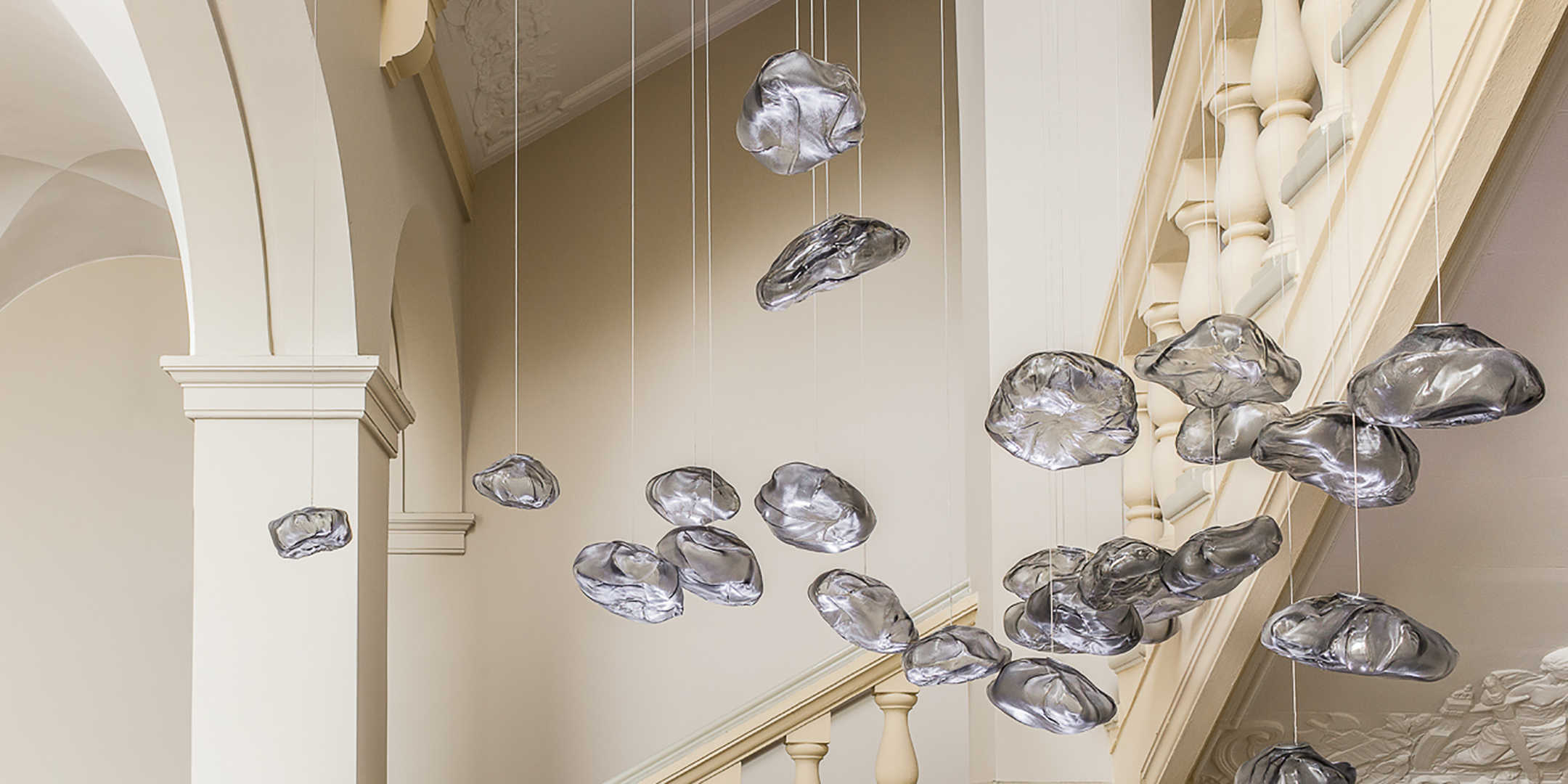 Lampade nuvola in fibra ceramica - Design Miss