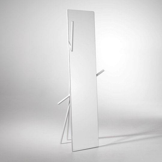 Appendiabiti di design hayman design miss for Specchio girevole da terra