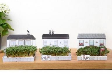 MatchCarden, una casa con giardino in miniatura