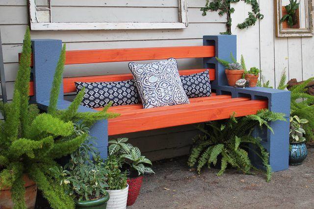 Panchine Da Giardino Fai Da Te : Come realizzare panchine da giardino con blocchi forati design miss