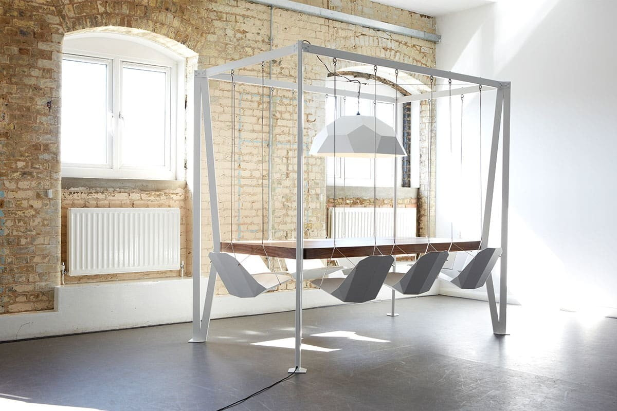 Swing Table, altalene in sala da pranzo! - Design Miss