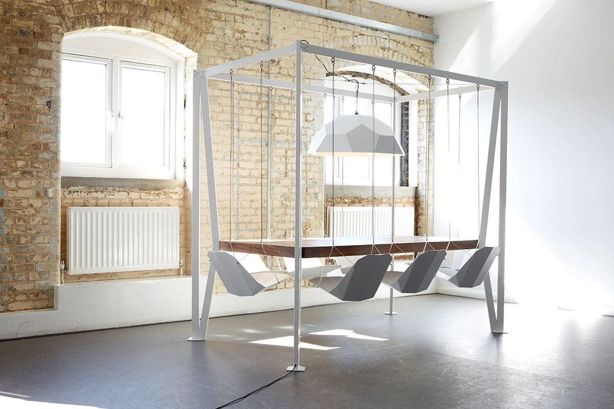 Swing Table Altalene In Sala Da Pranzo! Design Miss #654B35 1200 800 Superficie Minima Sala Da Pranzo
