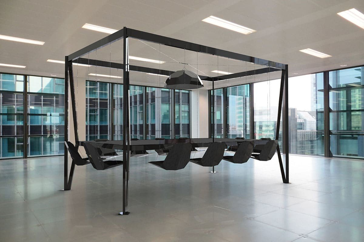 Swing table altalene in sala da pranzo design miss - Tavolo dimensioni ...