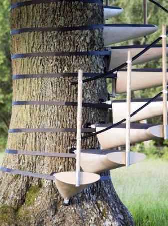 CanopyStair, una scala modulare per salire sugli alberi