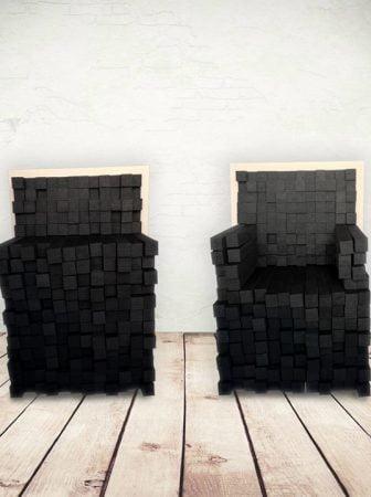 Skin in, da seduta modulare ad elemento scultoreo