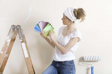 Tinteggiare le pareti di casa e risparmiare con il fai da te