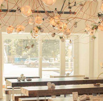 Illuminazioni di design per una casa green