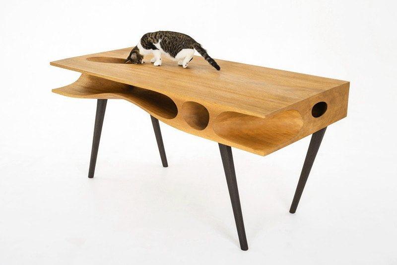 Catable arredamento di design da condividere con il for Arredamento per gatti
