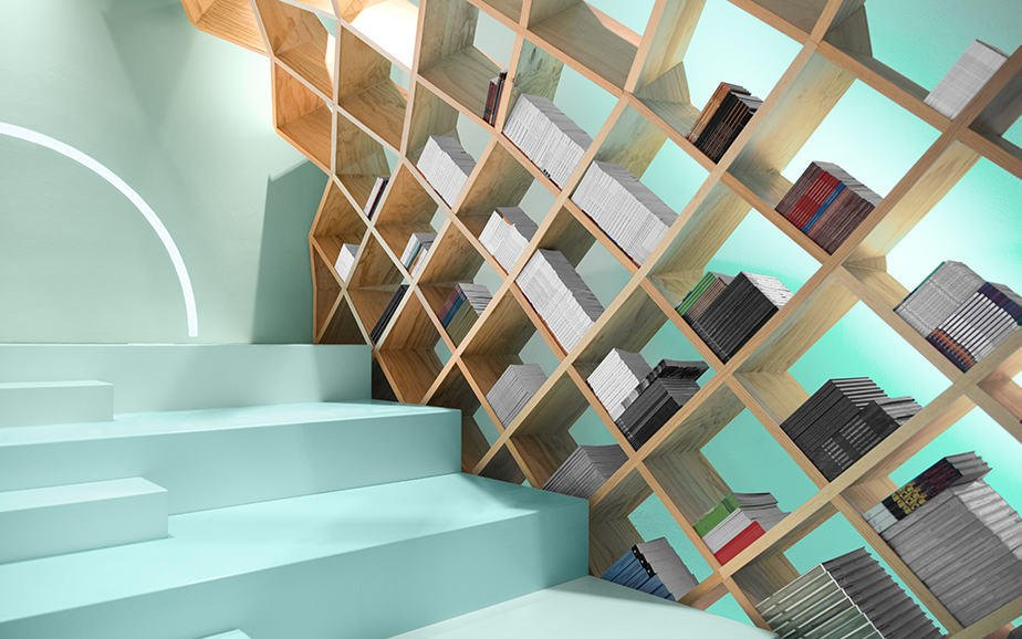 Libreria legno design   design miss