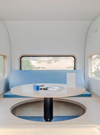 Uno spazio confortevole per lavorare fuori casa