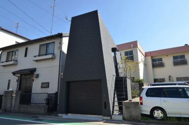 Mountain House, un curioso edificio nel quartiere di Hyogo