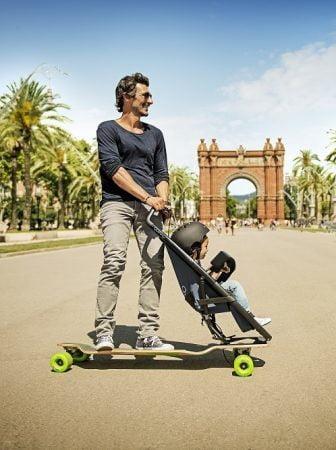 Longboardstroller, un modo divertente per girare la città