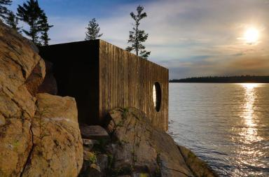 Grotto Sauna, un angolo di relax nella natura