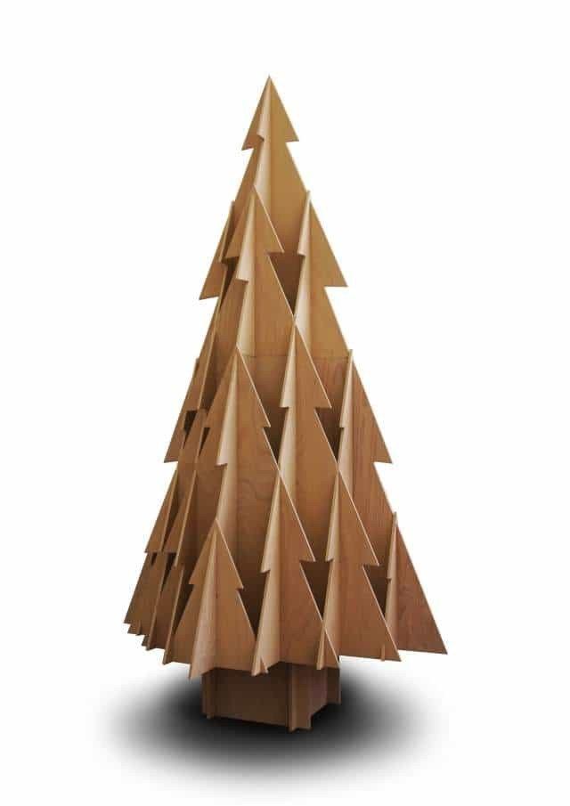 albero-natale-legno