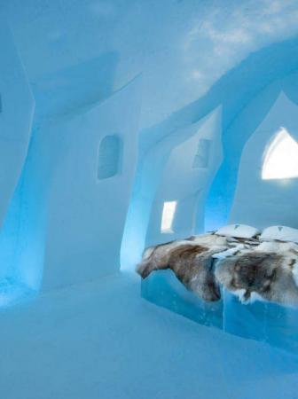Hotel di ghiaccio per soggiorni indimenticabili