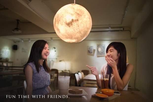 Luna Una Lampada Di Design Per Un Atmosfera Magica