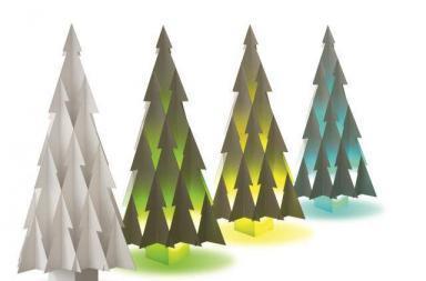 Un albero di design per un Natale sostenibile
