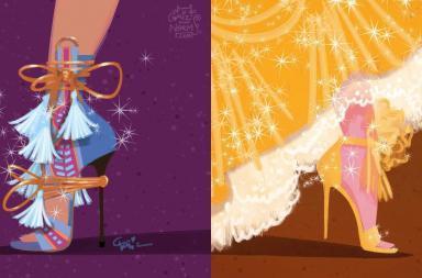 Scarpe all'ultima moda per le Principesse Disney