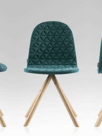 Abiti trapuntati per sedie uniche