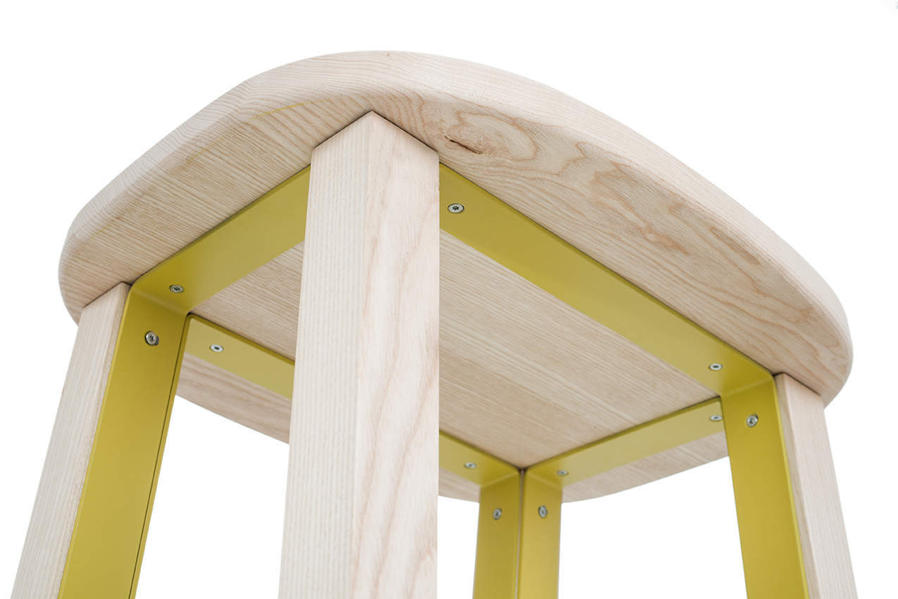 sgabello-acciaio-legno