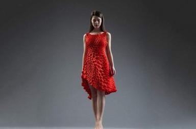 Vestito stampato in 3D al Museo of Fine Arts di Boston