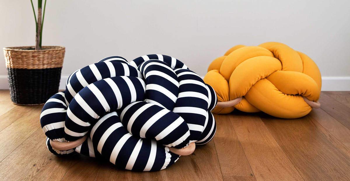 Knot cushion l 39 arte nautica che arreda casa design miss - Cuscini da terra esterno ...