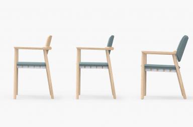 Belk, una sedia dal mood nordico