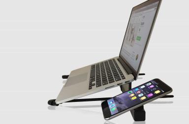 Stand regolabile per pc e smartphone
