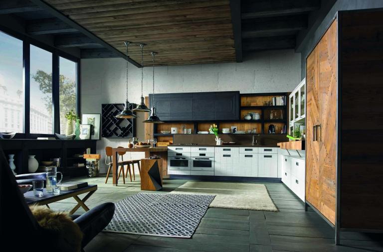 Arte e moda in cucina con il nuovo modello LAB 40