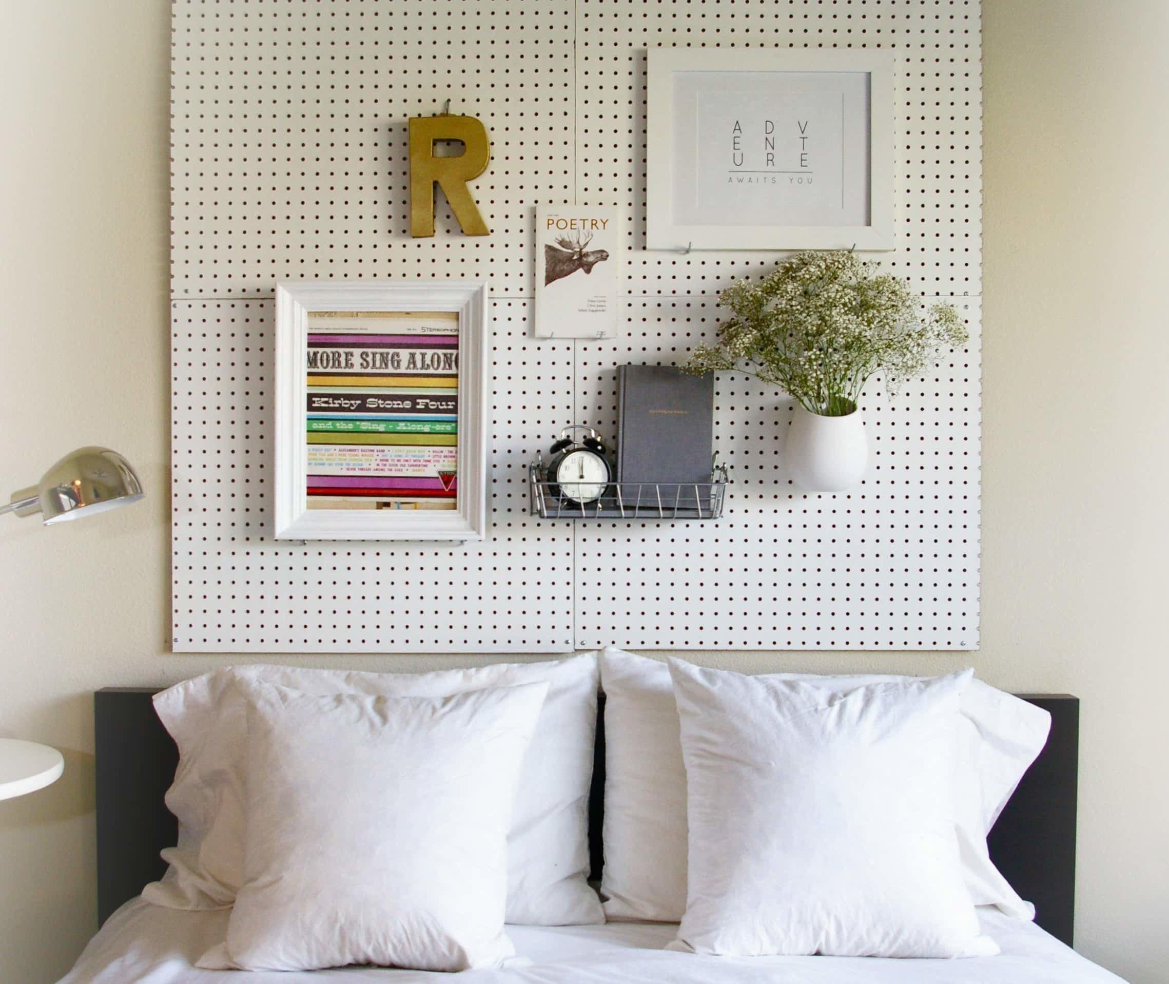 10 progetti testiera letto fai da te per arredare la - Testiera letto originale ...