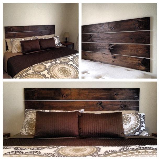 Testata del letto 10 progetti fai da te design miss - Cuscini spalliera letto ...
