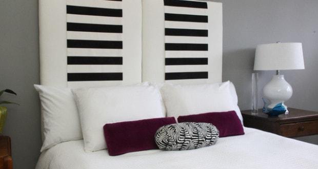 10 progetti testiera letto fai da te per arredare la camera design miss - Testiera letto fai da te imbottita ...