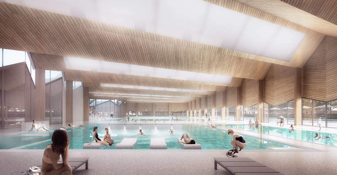 Une nouvelle piscine chamb ry design miss for Chambery metropole piscine