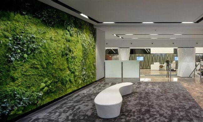 Novotel madrid center veste hi macs design miss - Giardino verticale madrid ...