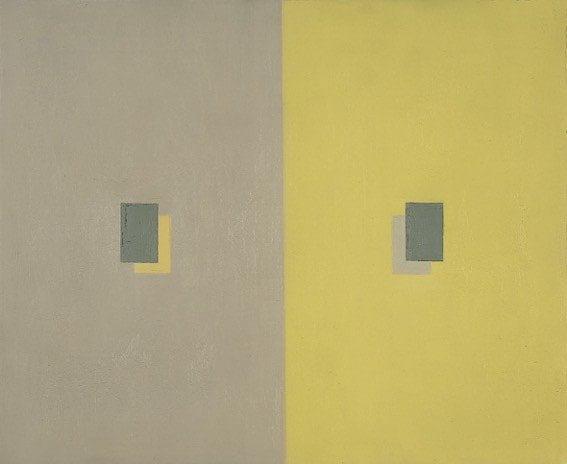 mostra-novecento-calderara_peso-ottico-giallo-e-grigio-in-rettangoli-sovrapposti-1960