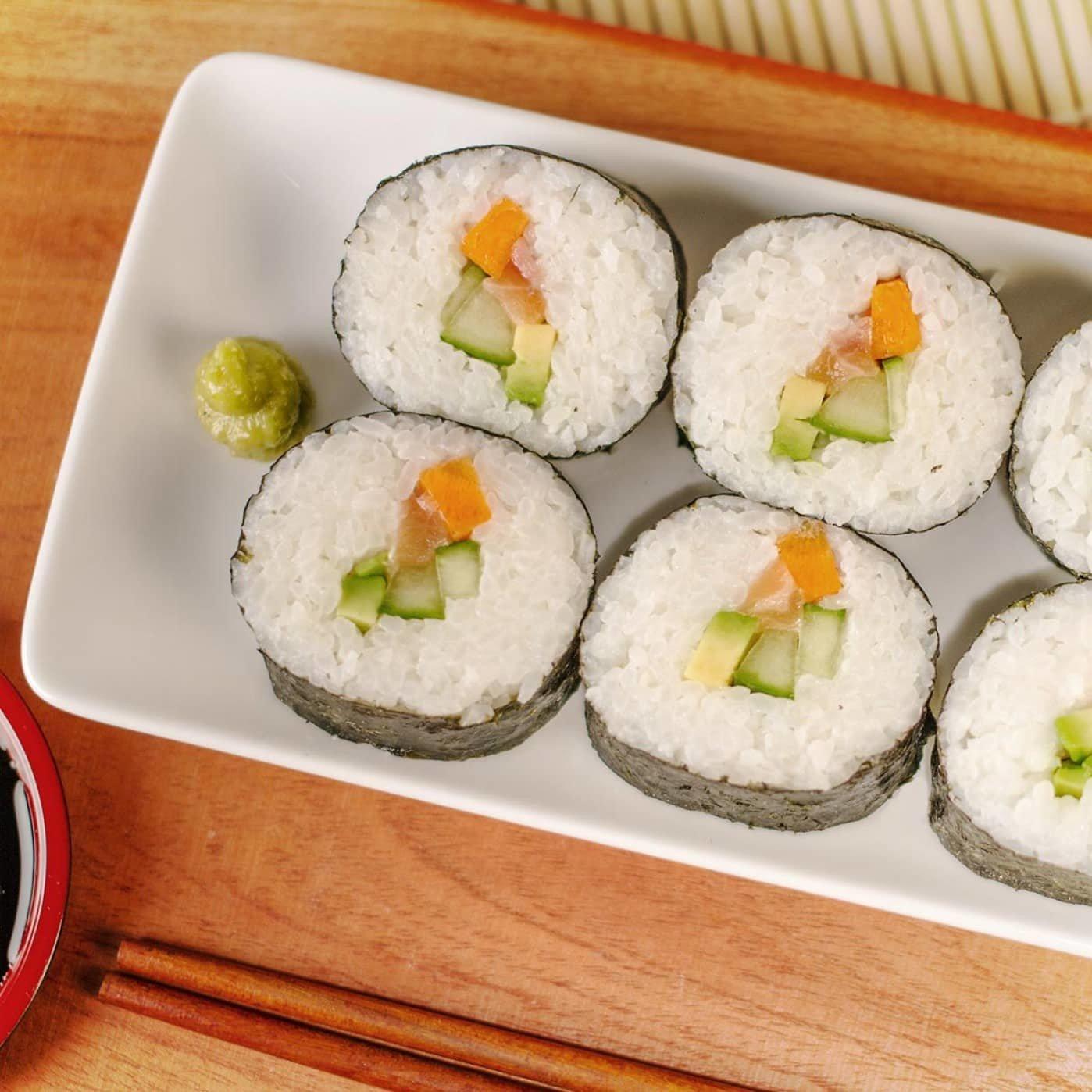 Sushi perfetto fatto in casa - Design Miss