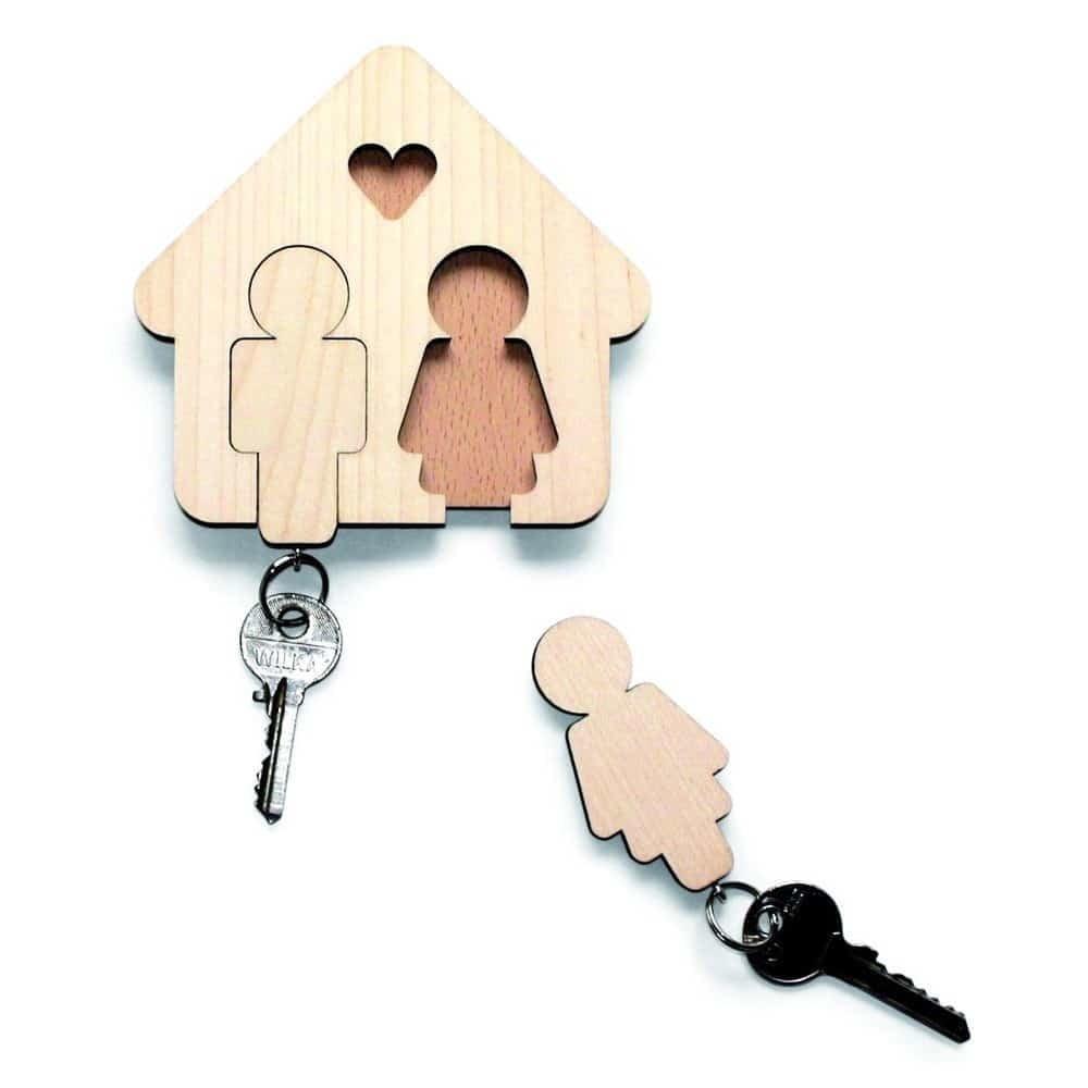 """Appendichiavi per due """"Casa dolce casa"""""""