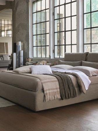 Somnia, il nuovo letto Dorelan firmato da Giulio Iacchetti