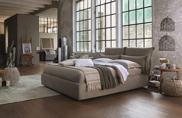 Somnia il nuovo letto dorelan firmato da giulio iacchetti - Derivato di letto ...