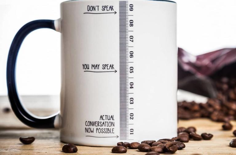 Una tazza originale per iniziare bene la giornata