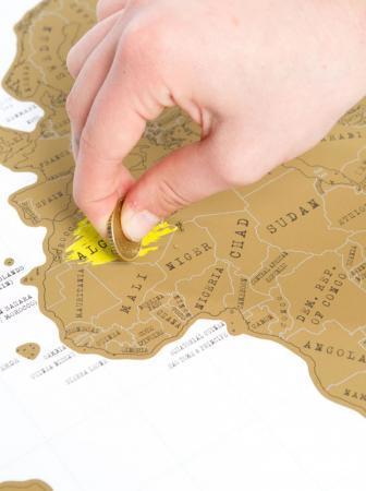 Scratch Map, il regalo da grattare!