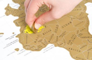 Scratch Map, il regalo da grattare!