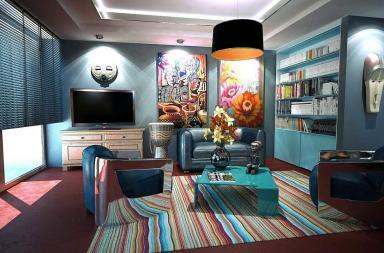 Casa e colori,il 2017 veste denim drift