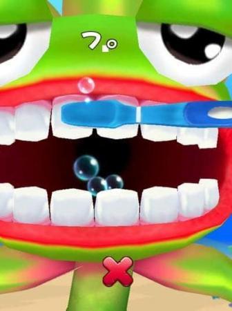 Spazzolare i denti diventa un gioco divertente