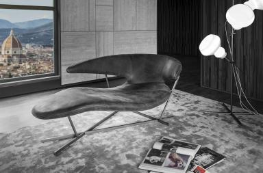 La nuova chaise longue MANTA al Salone del mobile 2017